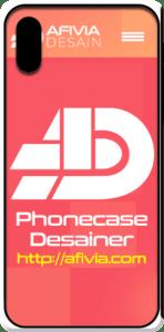 afivia desain phone case mockup